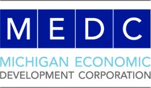Michigan Economic Development Corporation (MEDC) logo
